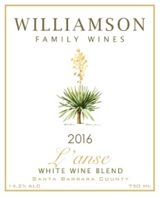 Williamson Family Wines - L'anse [Front] (2016)
