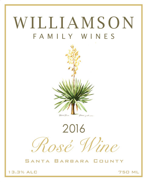 Williamson Family Wines - Rose [Front] (2016)
