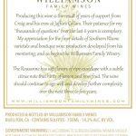 Williamson Family Wines - Roussanne Barrel Select [Back] (2016)
